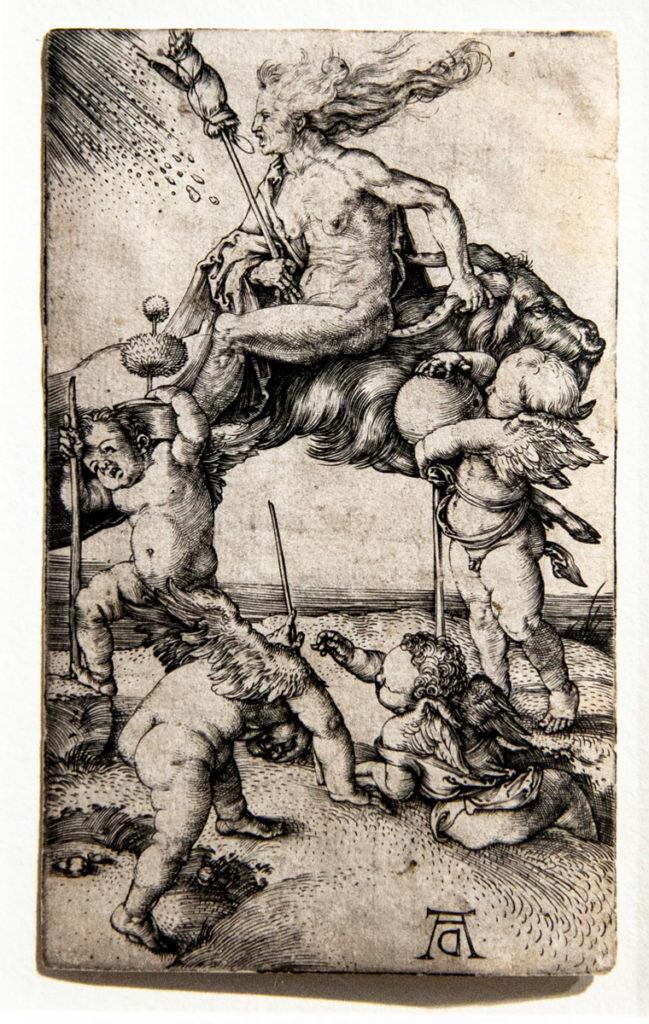 Il pensiero allegorico nelle opere di Albrecht Dürer - La strega bulino del 1500