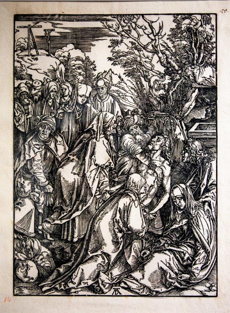 Il tema cristiano nelle xilografie di Albrecht Dürer - Il Seppellimento (1511)