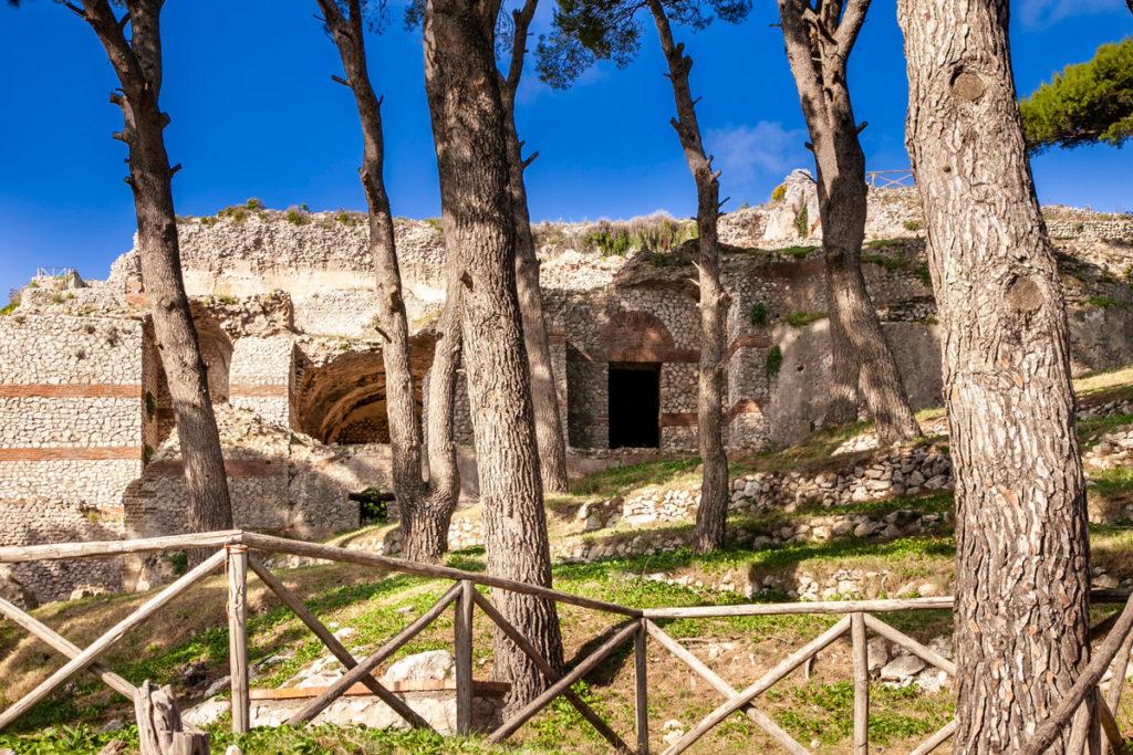 Ingresso a Villa Jovis - gli scavi archeologici più importanti di Capri