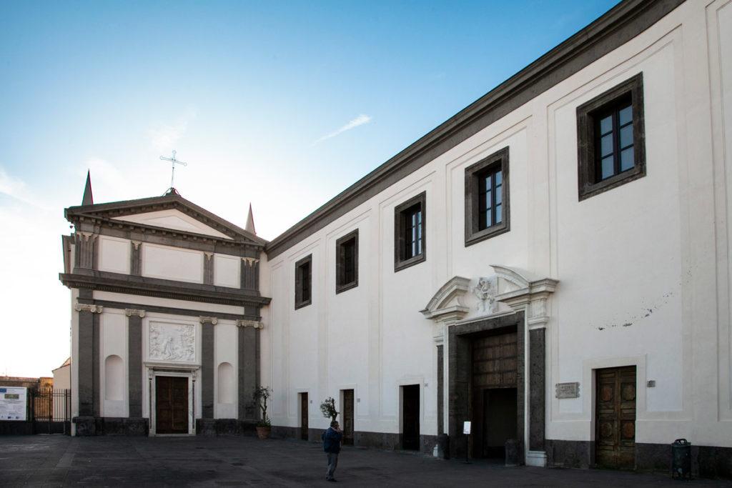 Ingresso alla Certosa di San Martino di Napoli