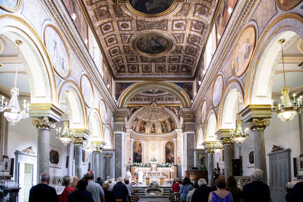 Interni della Basilica di Sant'Antonino - Chiesa principale