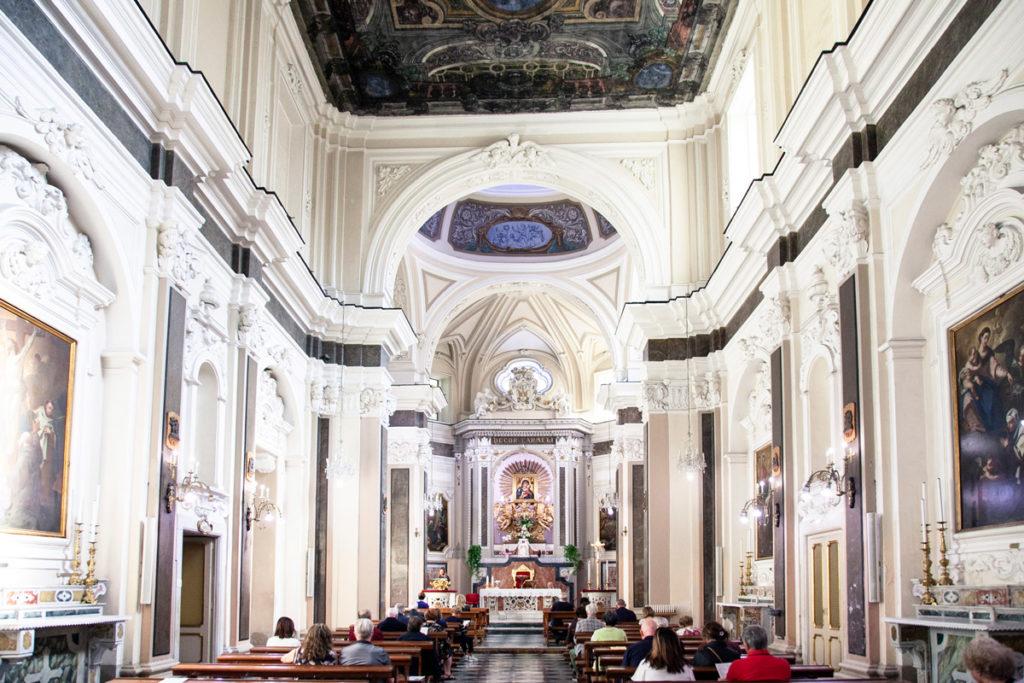 Interni della Chiesa del Carmine