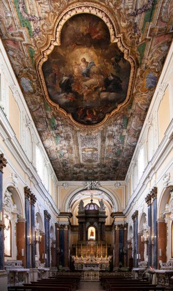 Interni della Chiesa della Santissima Annunziata