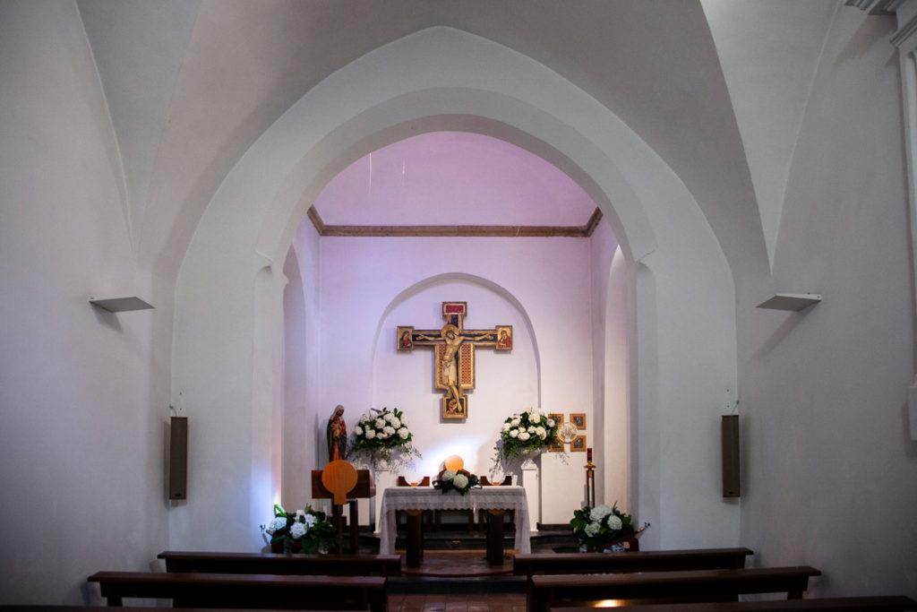 Interni della chiesa di San Michele alla Croce