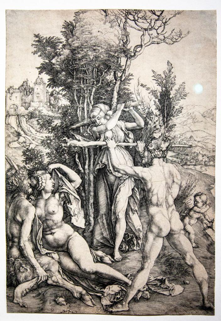 L'Ercole - la gelosia (1498) - Albrecht Dürer e i temi classici nel suo rinascimento nordico
