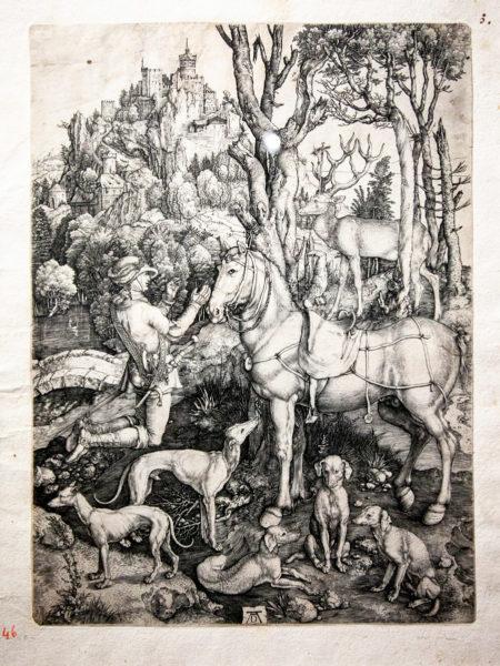 L'Osservazione della realtà nelle incisioni di Albrecht Dürer - Sant'Eustachio del 1501