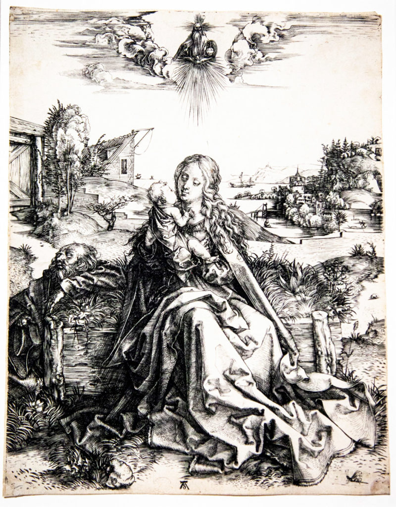 La Sacra Famiglia della Libellula - Albrecht Dürer - 1495 - Il tema ricorrente della Madonna