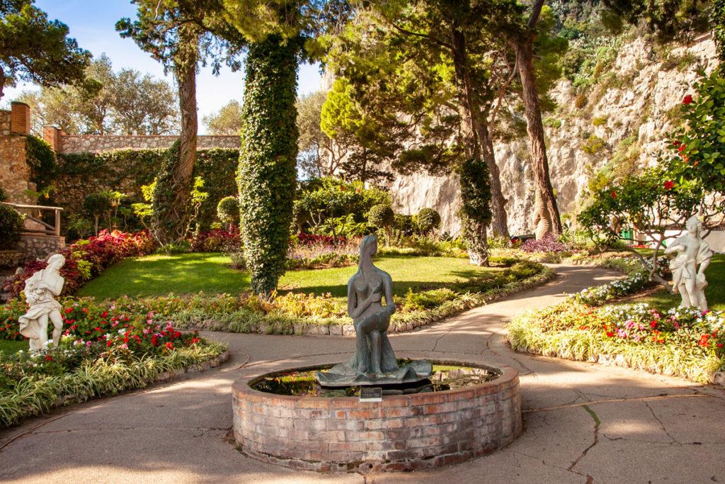 La natura e le fontane dei Giardini di Augusto