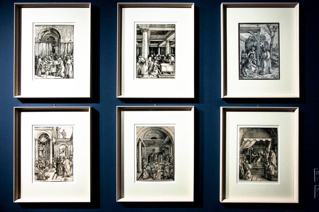 La prospettiva rinascimentale nelle opere di Albrecht Dürer - Episodi de La vita della Vergine (1503/1510)