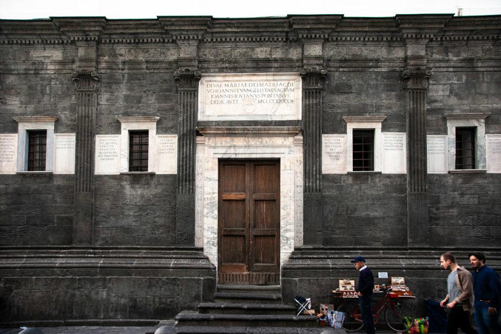 Lapis Museum a Napoli - via dei Tribunali