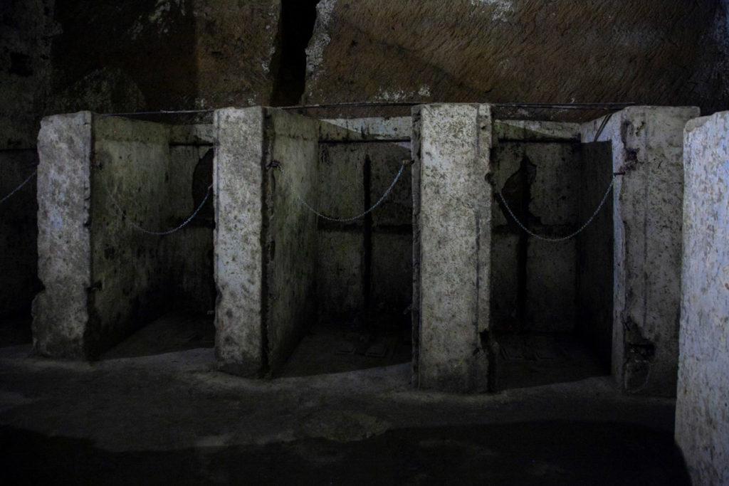 Le Latrine di Napoli Sotterranea utilizzate durante la seconda guerra mondiale