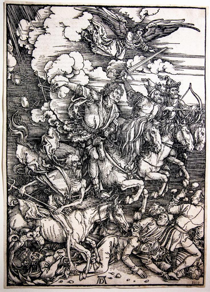 Le Xilografie di Albrecht Dürer - I Quattro Cavalieri (1497/1498)