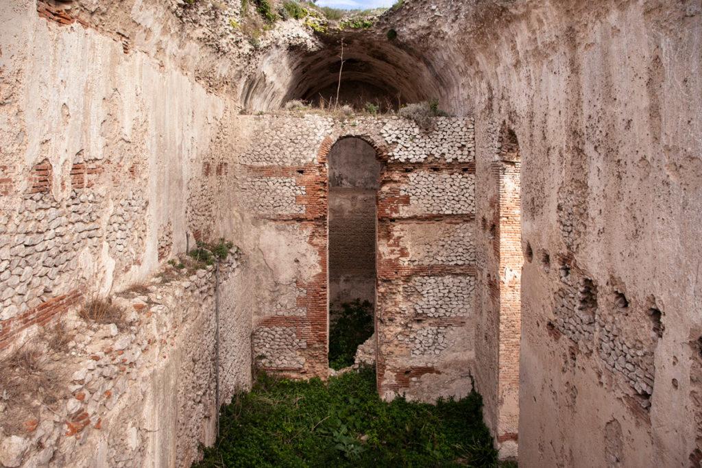 Le alte cisterne di villa Jovis - Resti del I secolo