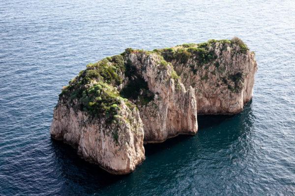 Lo Scoglio del Monacone di Capri