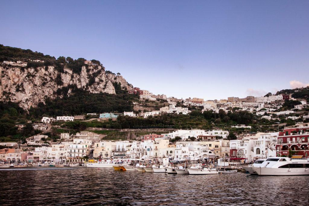 Marina Grande al Tramonto - Cosa vedere a Capri