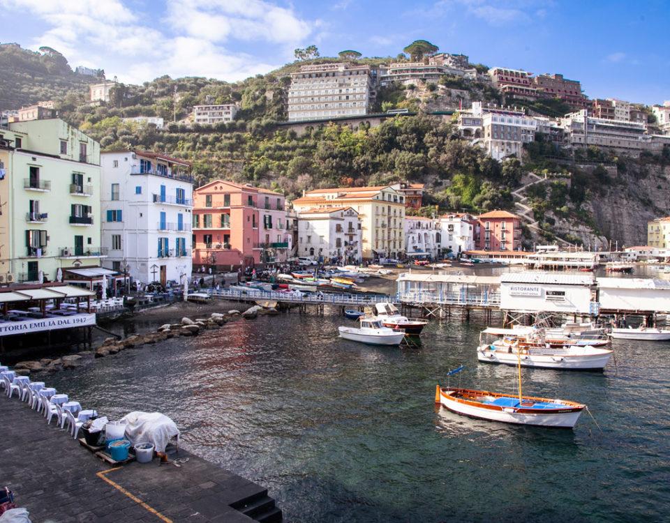 Marina grande - il borgo di pescatori a Sorrento
