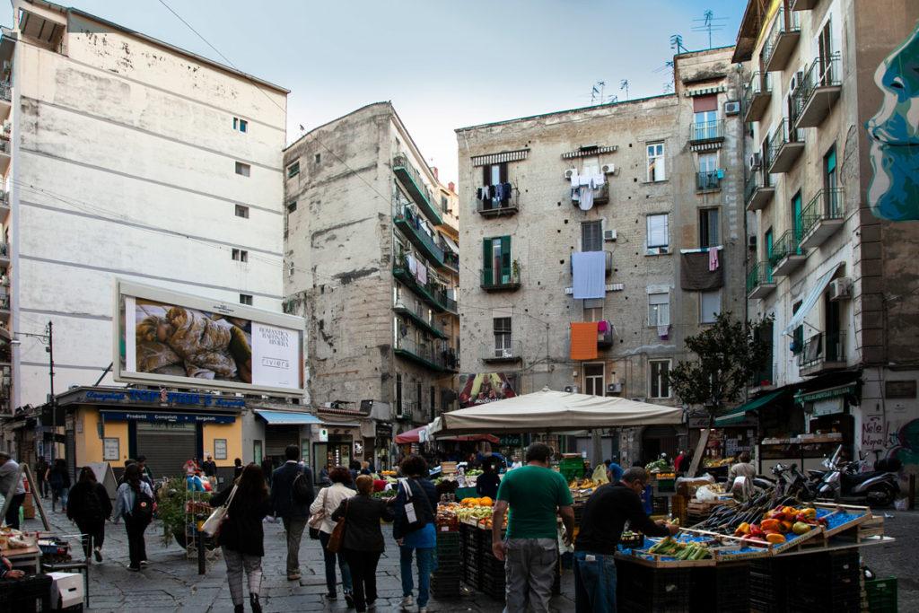 Mercato della Pignasecca a Napoli