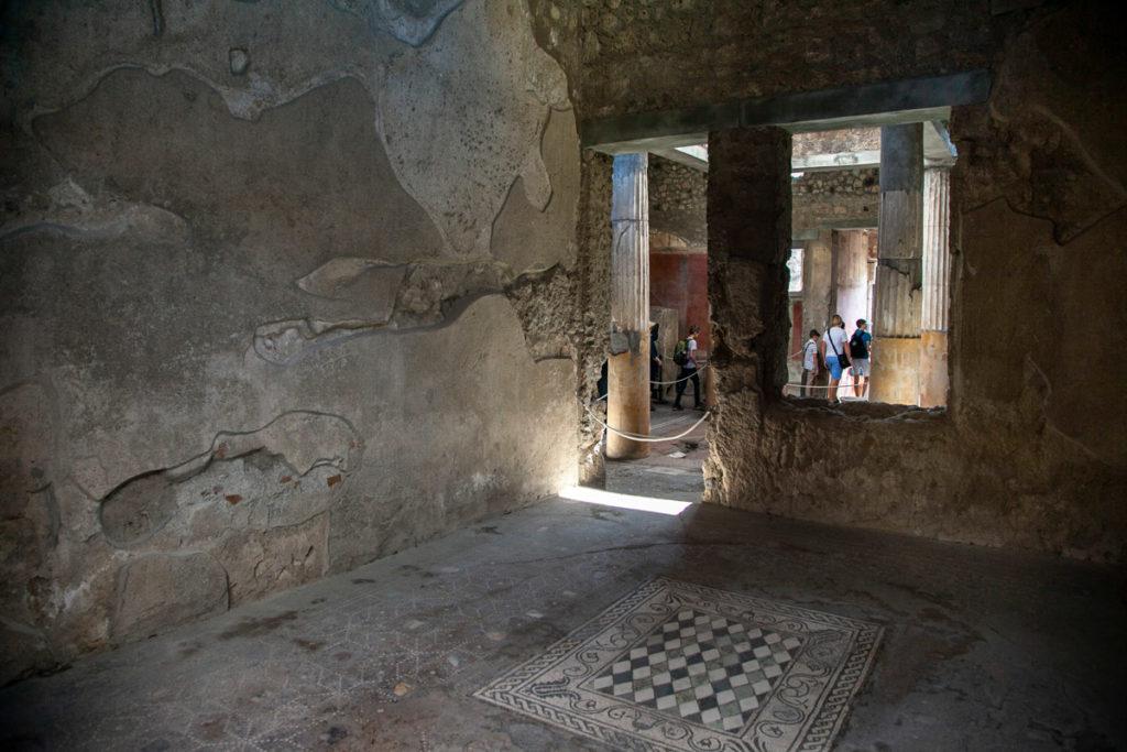 Mosaico pavimentale nella Casa del Menandro