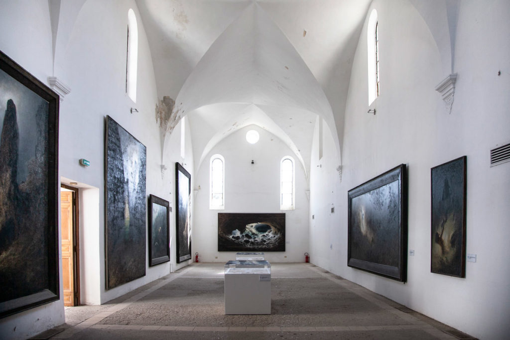 Museo dedicato a Karl Diefenbach nella Certosa di San Giacomo