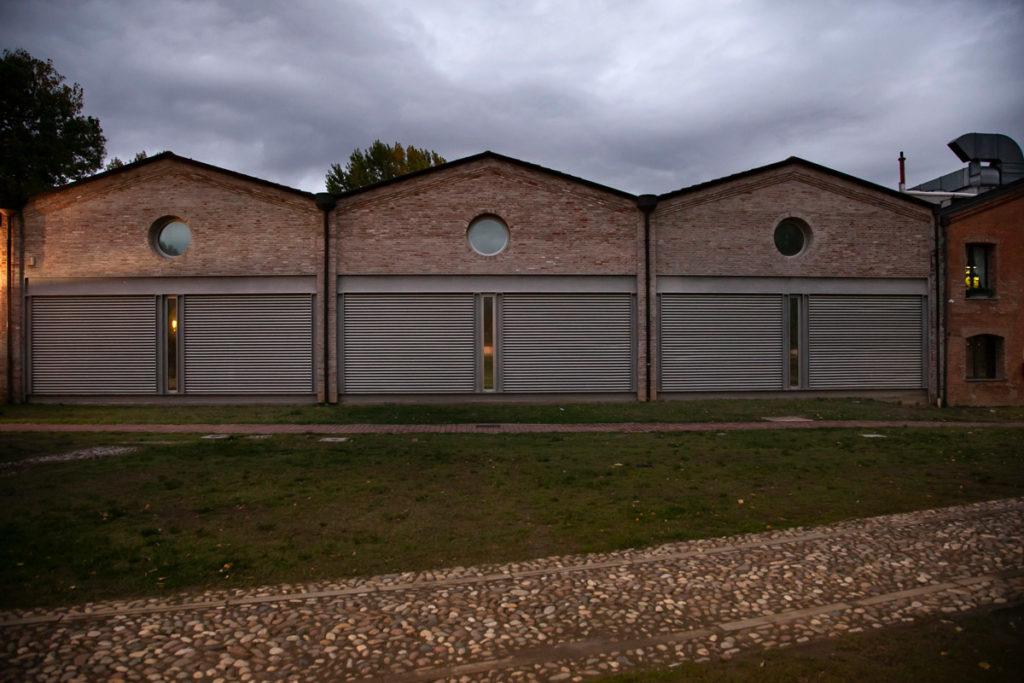 Museo per la Memoria di Ustica - Edifici Esterni costruiti per ospitare i resti dell'aereo