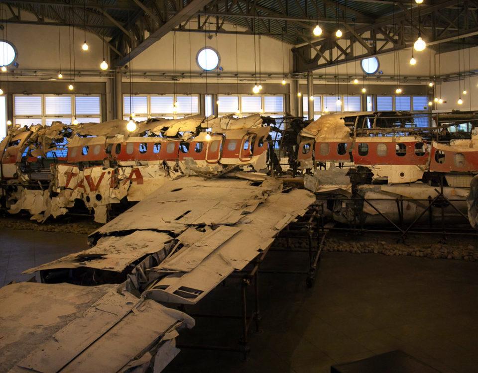 Museo per la Memoria di Ustica - I resti dell'Aereo