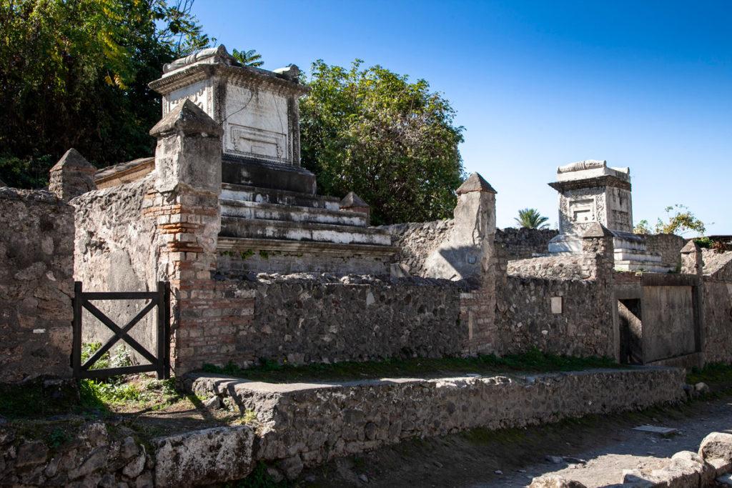 Necropoli di Porta Ercolano a Pompei