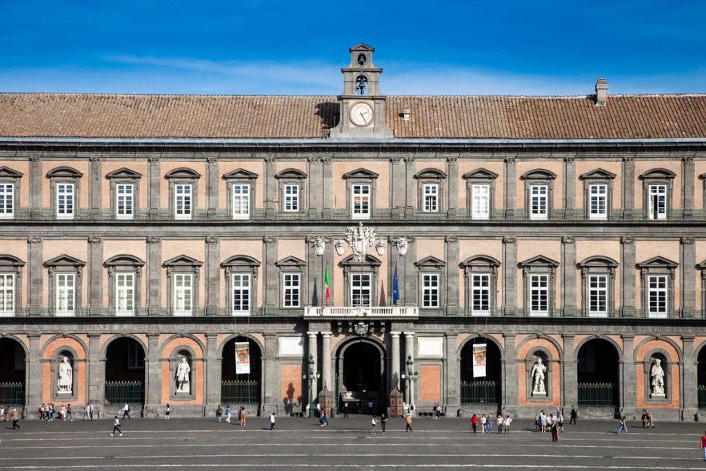 Palazzo Reale di Napoli - Costruito per il vicerè spagnolo