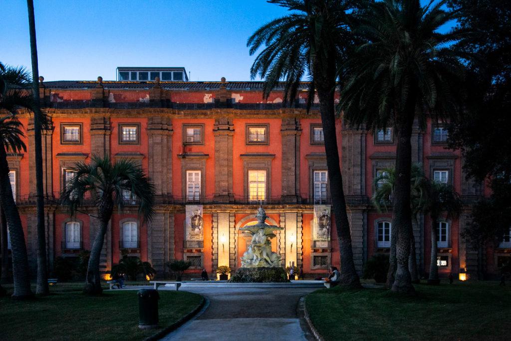 Palazzo Reale nel parco di Capodimonte