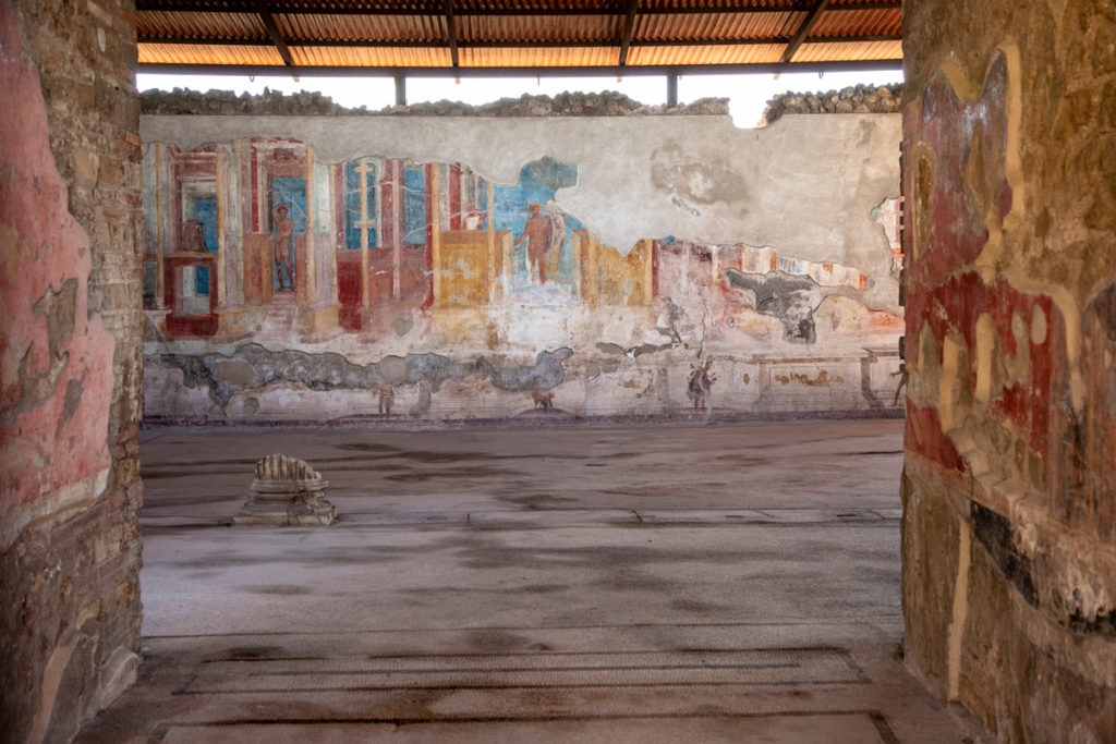 Palestra degli Iuvenes e i suoi affreschi