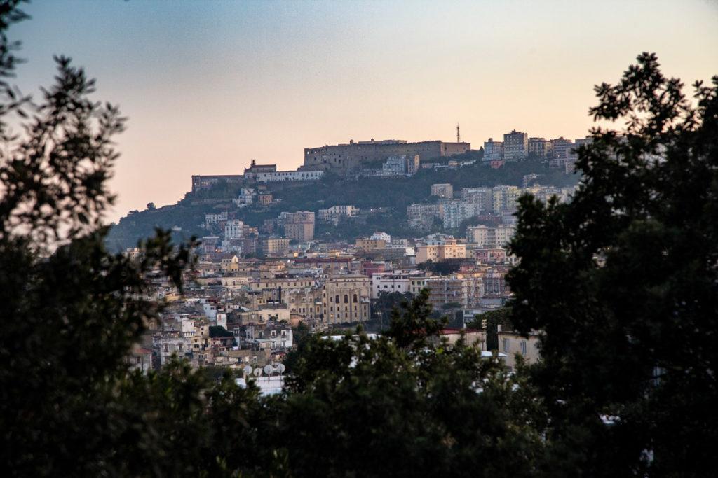 Panorama al Tramonto su Castel Sant'Elmo e il Vomero - Napoli
