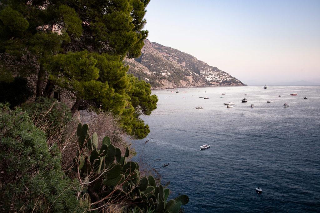 Panorama del mare dal sentiero degli innamorati