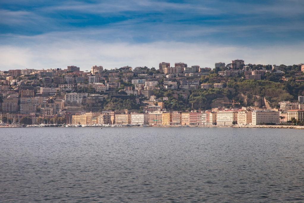 Panorama di Napoli - Lungomare Caracciolo