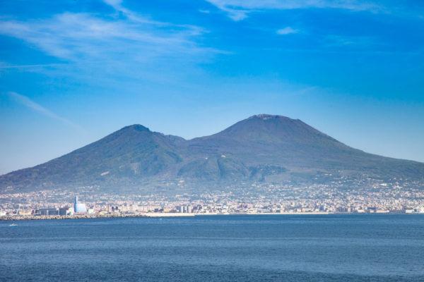 Panorama sul Vesuvio - Cosa vedere a Napoli