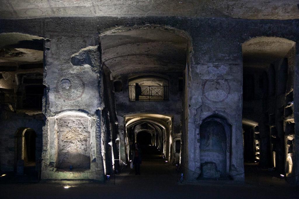Parte più antica delle Catacombe di San Gennaro