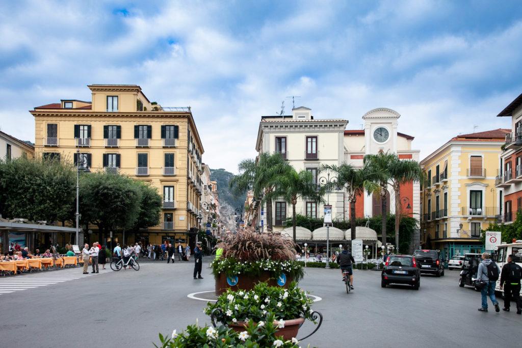 Piazza Torquato Tasso - Ingresso a Sorrento