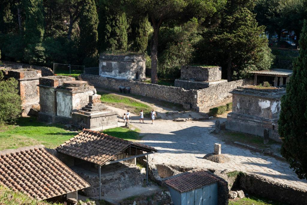 Pompei vista da Sopra - Zona Orto dei Fuggiaschi