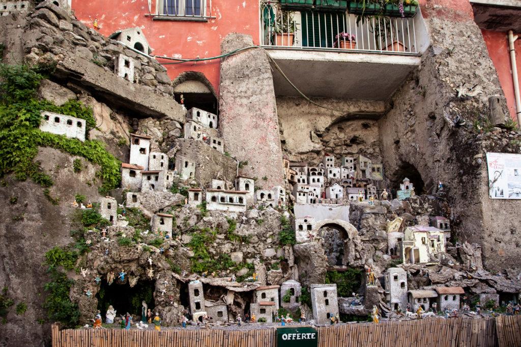 Presepe permanente Arco della Faenza di Amalfi