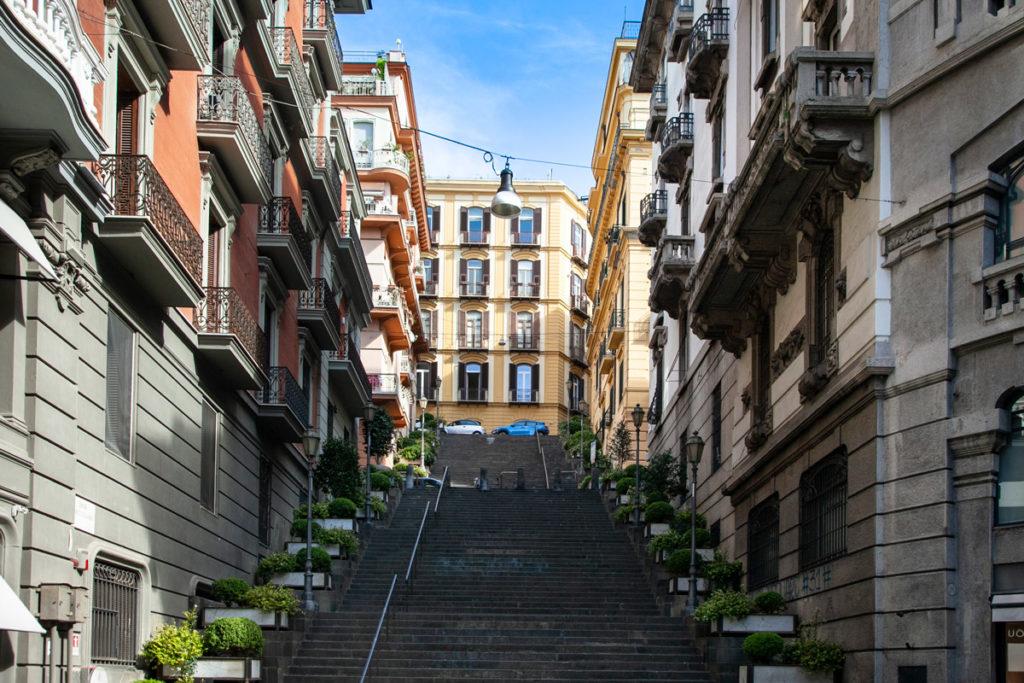Quartiere Chiaia di Napoli - Palazzi Signorili
