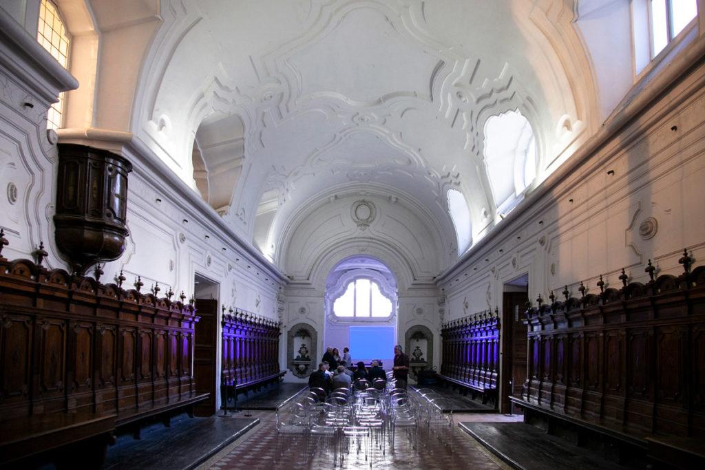 Refettorio della Certosa di San Martino utilizzato per eventi