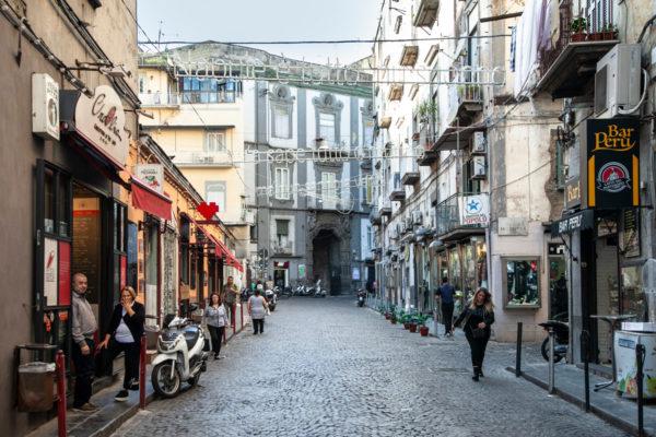 Rione Sanità e Palazzo San Felice