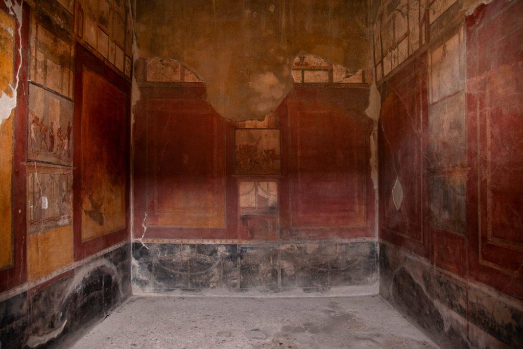 Sala affrescata della Casa del Menandro