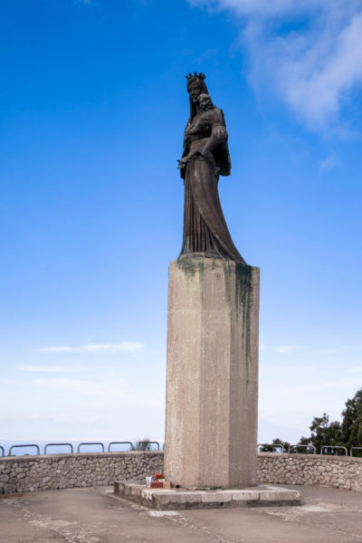 Statua della Madonna con Bambino - Villa Jovis