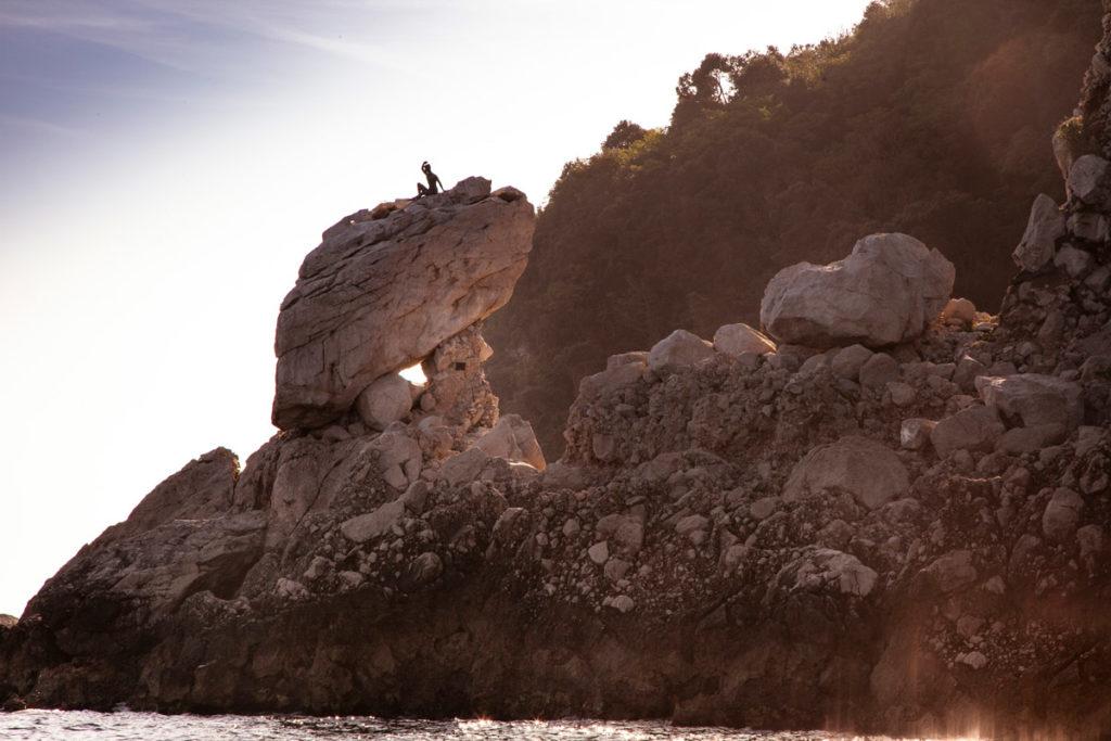 Statua di Gennarino - Mascotte di Capri