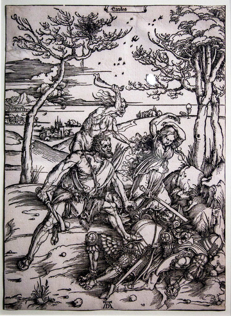 Temi classici nelle opere di Albrecht Dürer - Ercules (1496)