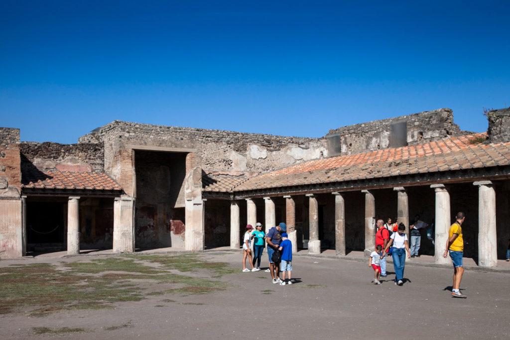 Terme Stabiane di Pompei - Colonnato