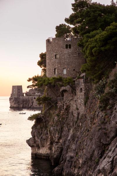 Torre Trasita - Una delle torri saracene di Positano