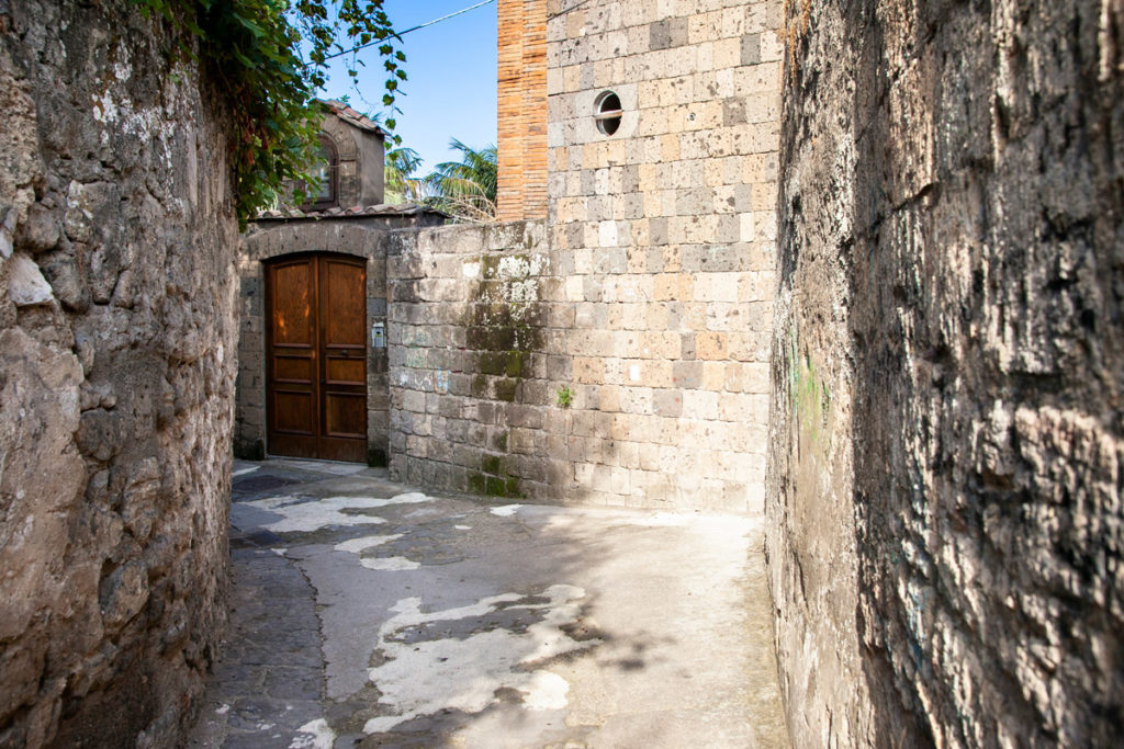 Via Sopra le Mura - Via Storica del Centro