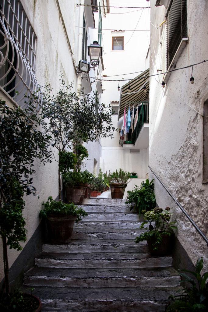 Vicoli del Centro Storico di Amalfi