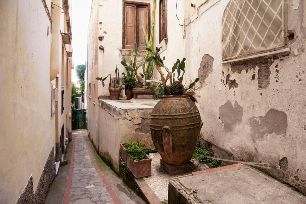 Vicoli del centro storico di Capri