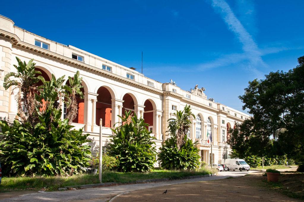 Villa Comunale di Napoli - Stazione Zoologica di Anton Dohrn